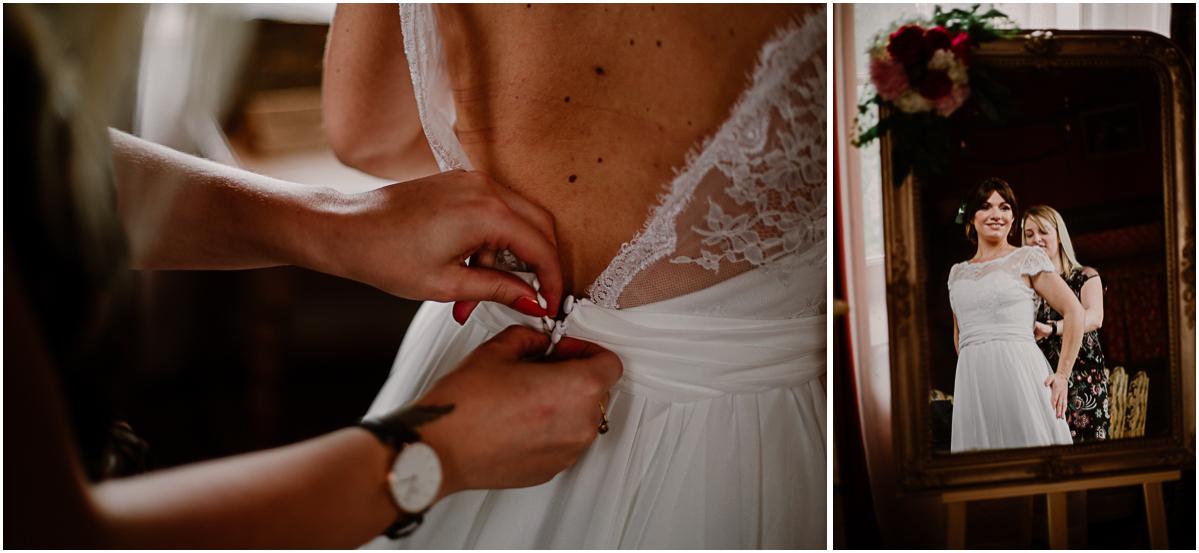 mariage au chateau près d'annecy boutons