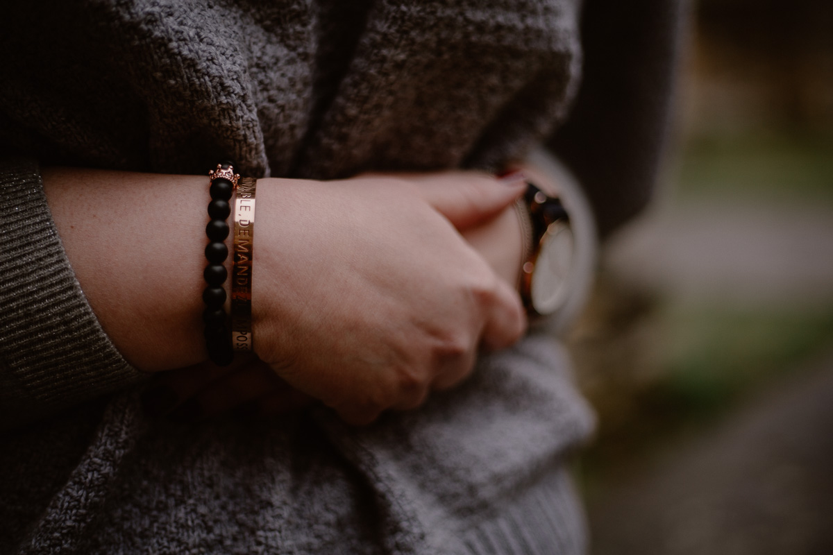 Photo de couple auvergne puy-de-dome bracelet