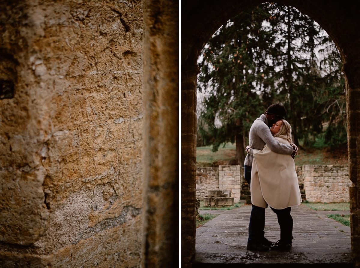 Photo de couple auvergne puy-de-dome enlacer