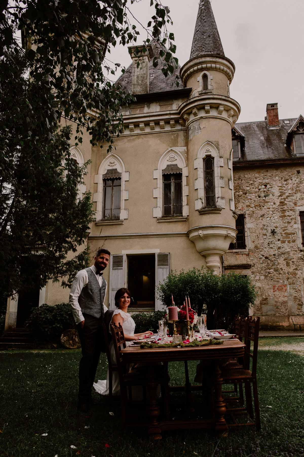 mariage au chateau près d'annecy tour