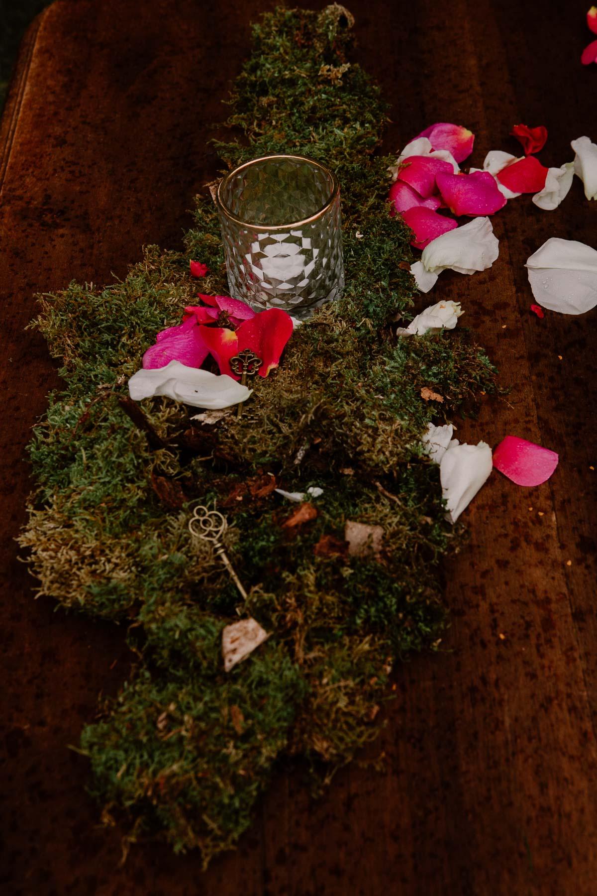 mariage au chateau près d'annecy décoration
