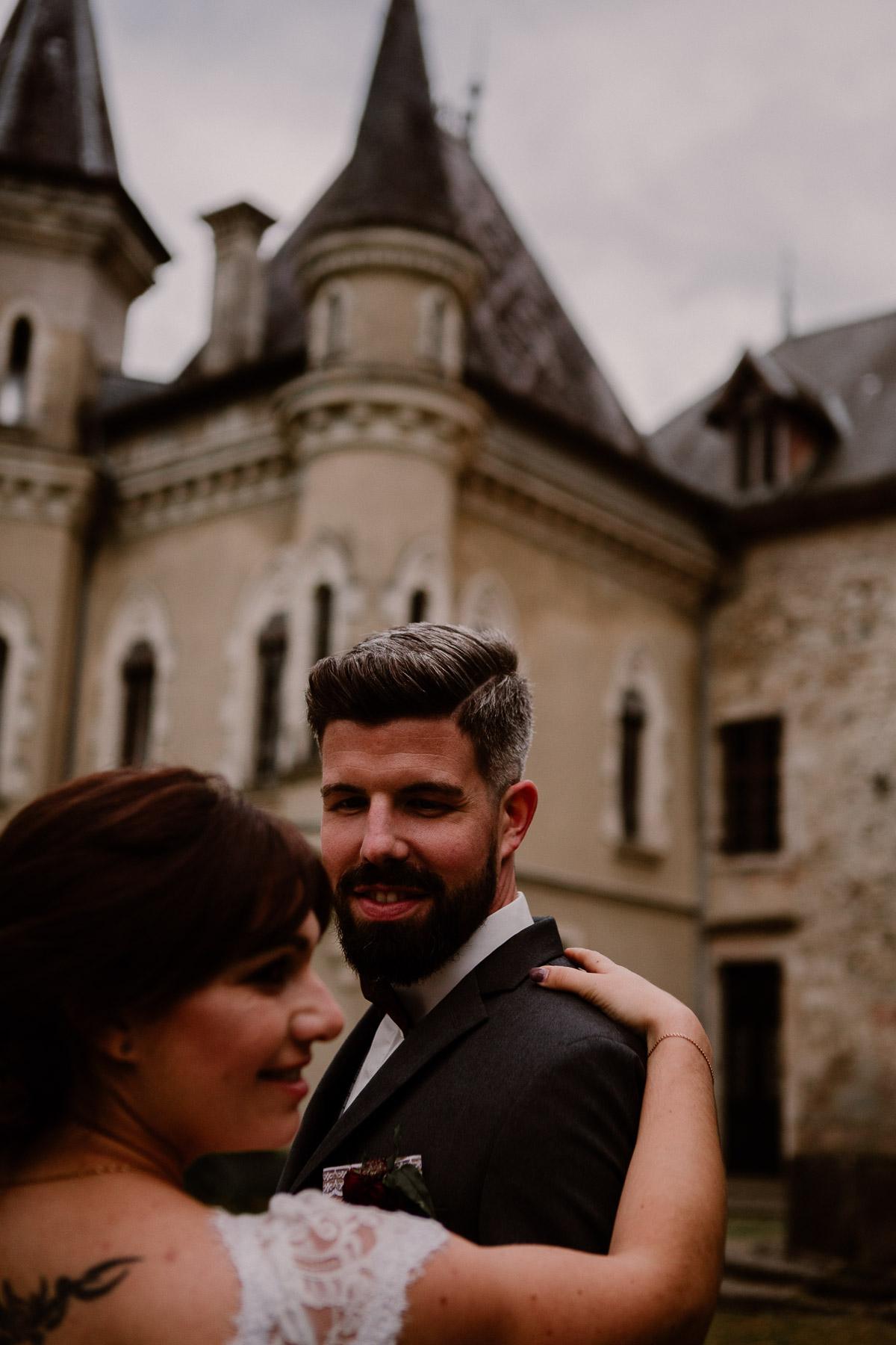 mariage au chateau près d'annecy amour