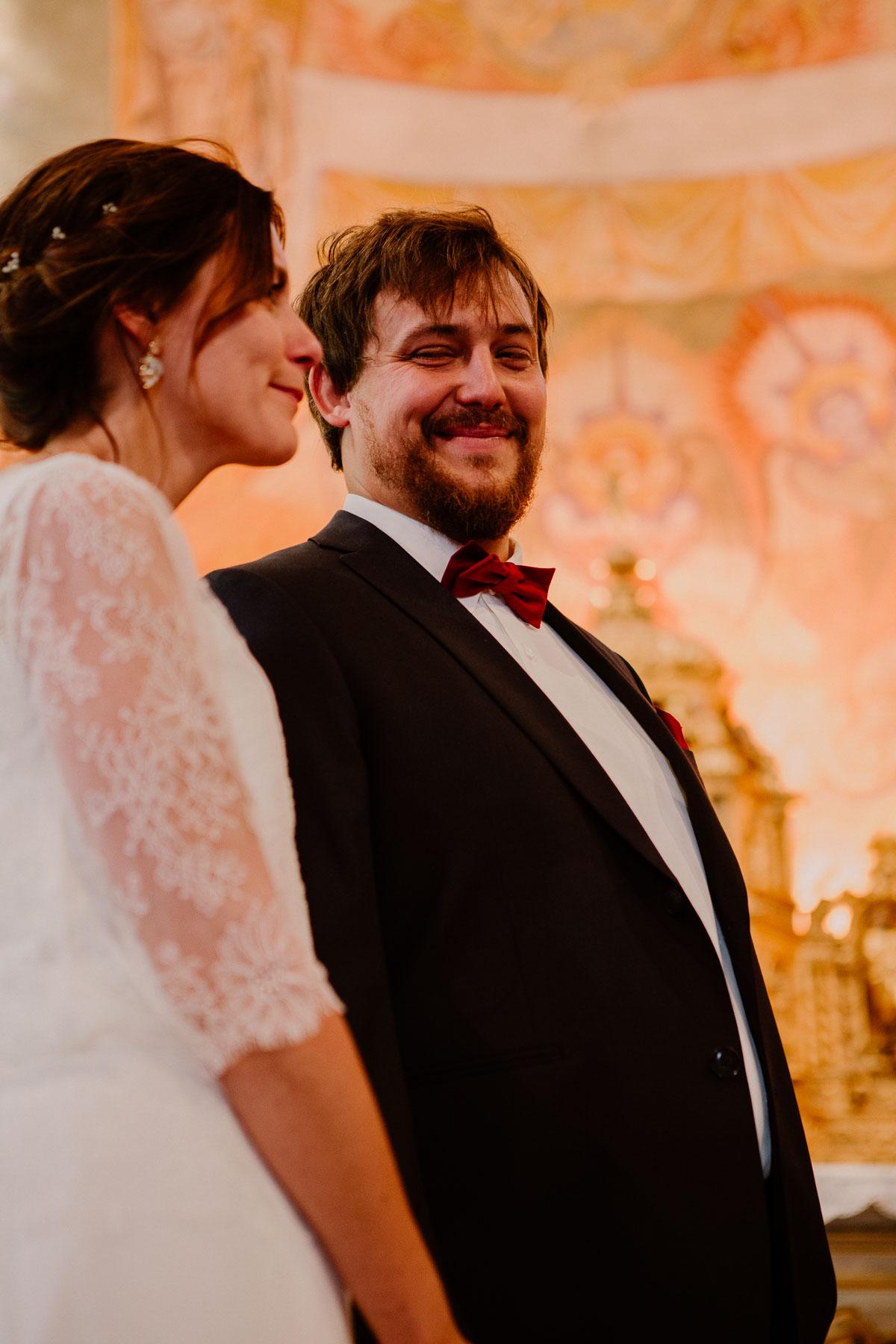 Mariage champêtre au chateau de Chazeron Auvergne amour