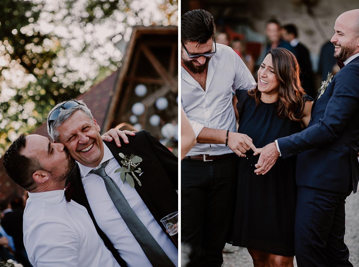mariage au domaine de la médicée annecy rires