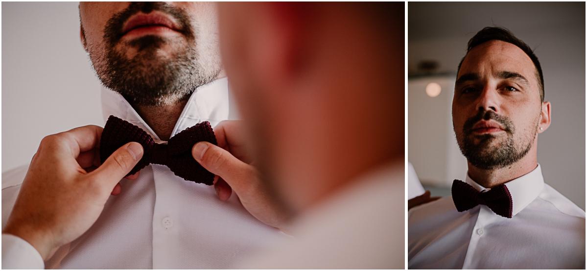 mariage au domaine de la médicée annecy noeud