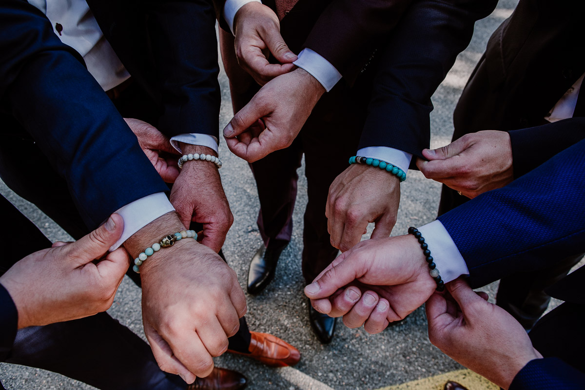 mariage au domaine de la médicée annecy bracelet