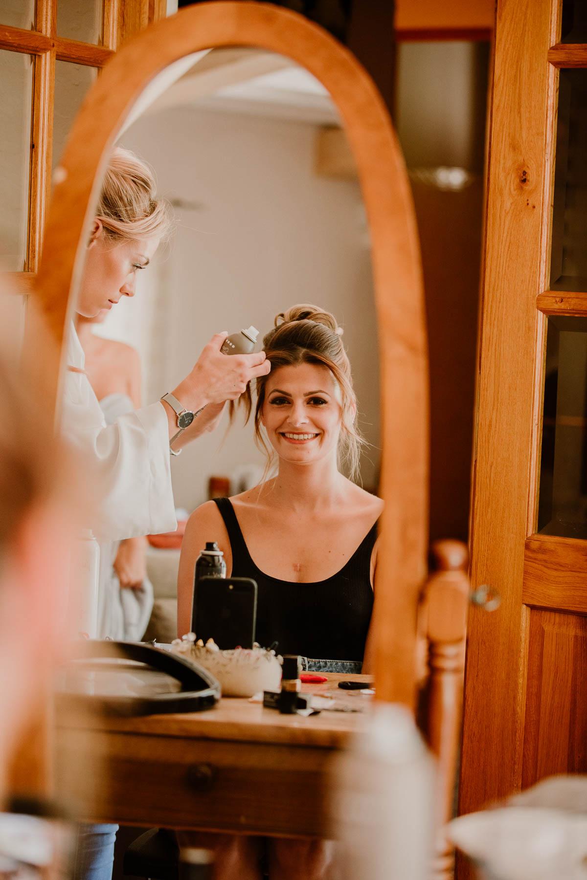 mariage au domaine de la médicée annecy coiffure