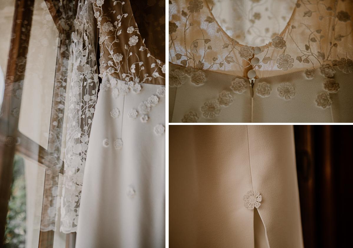 mariage au domaine de la médicée annecy robe