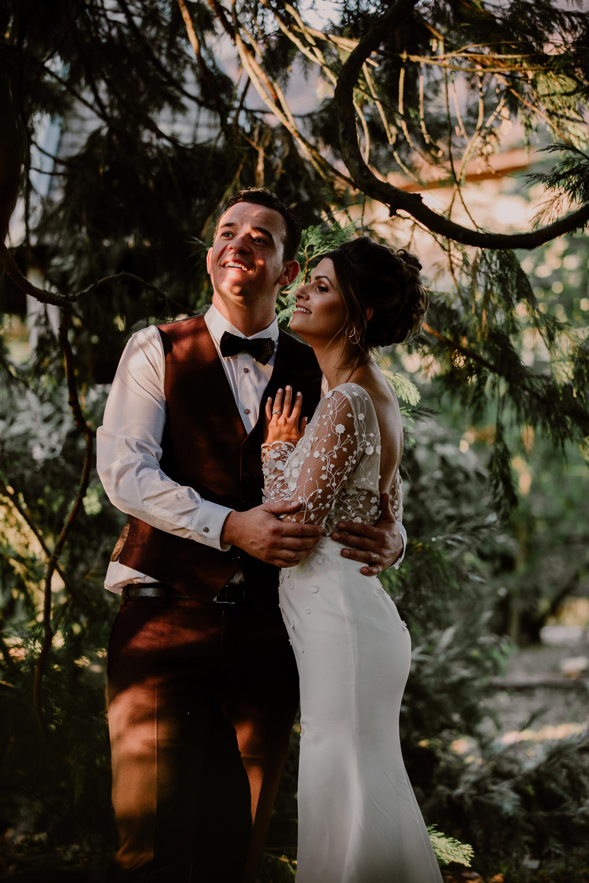 mariage au domaine de la médicée annecy sapin