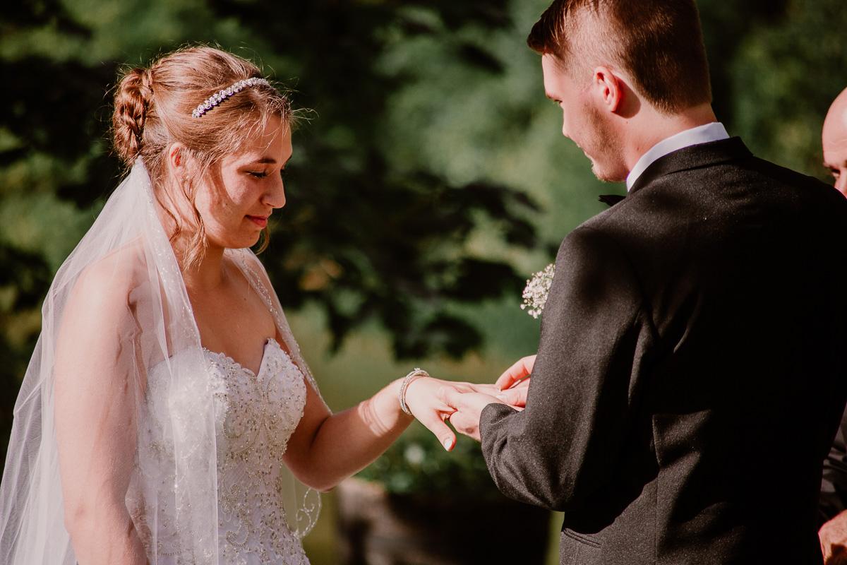 mariage intime au québec en automne échange