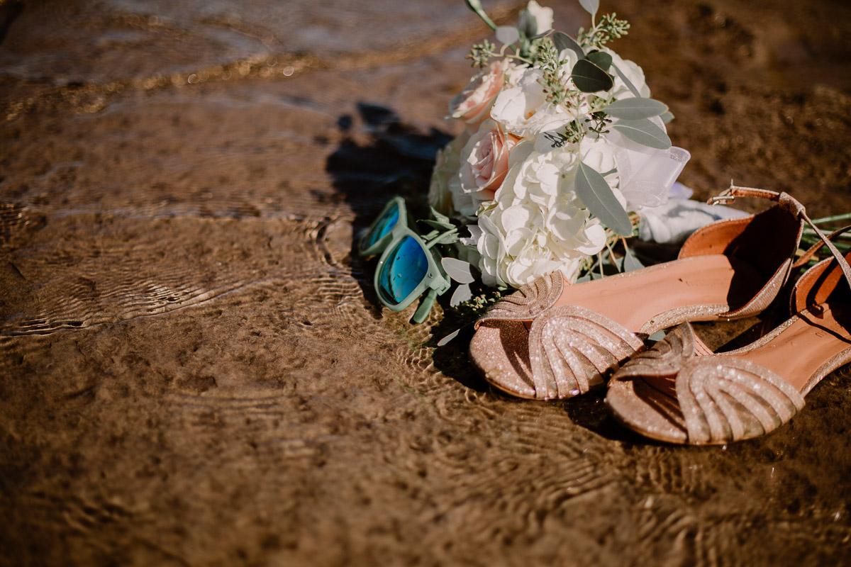 trash the dress fun et coloré sandale