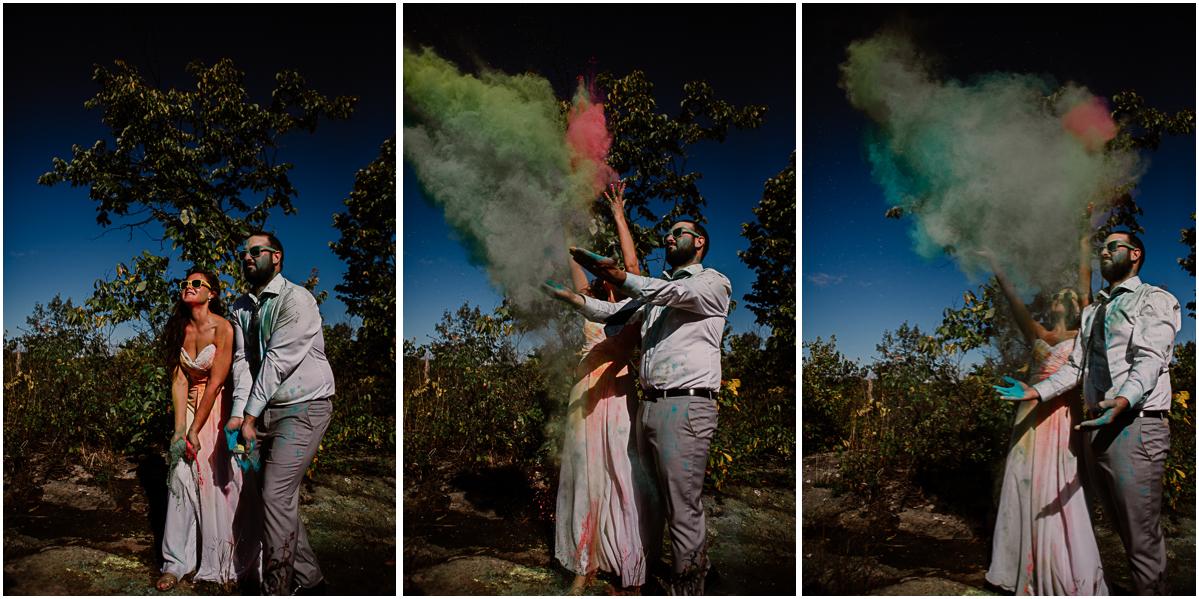 trash the dress fun et coloré bonheur