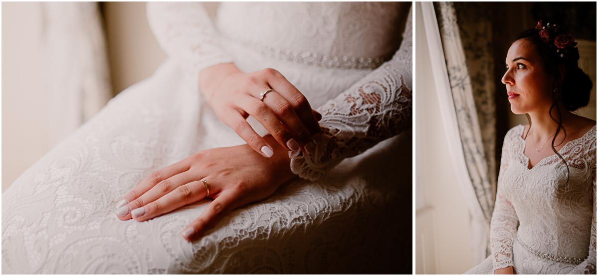 mariage intime au chateau de chazelles portrait