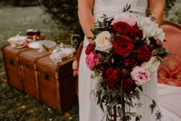 Mariage Chateau annecy bouquet