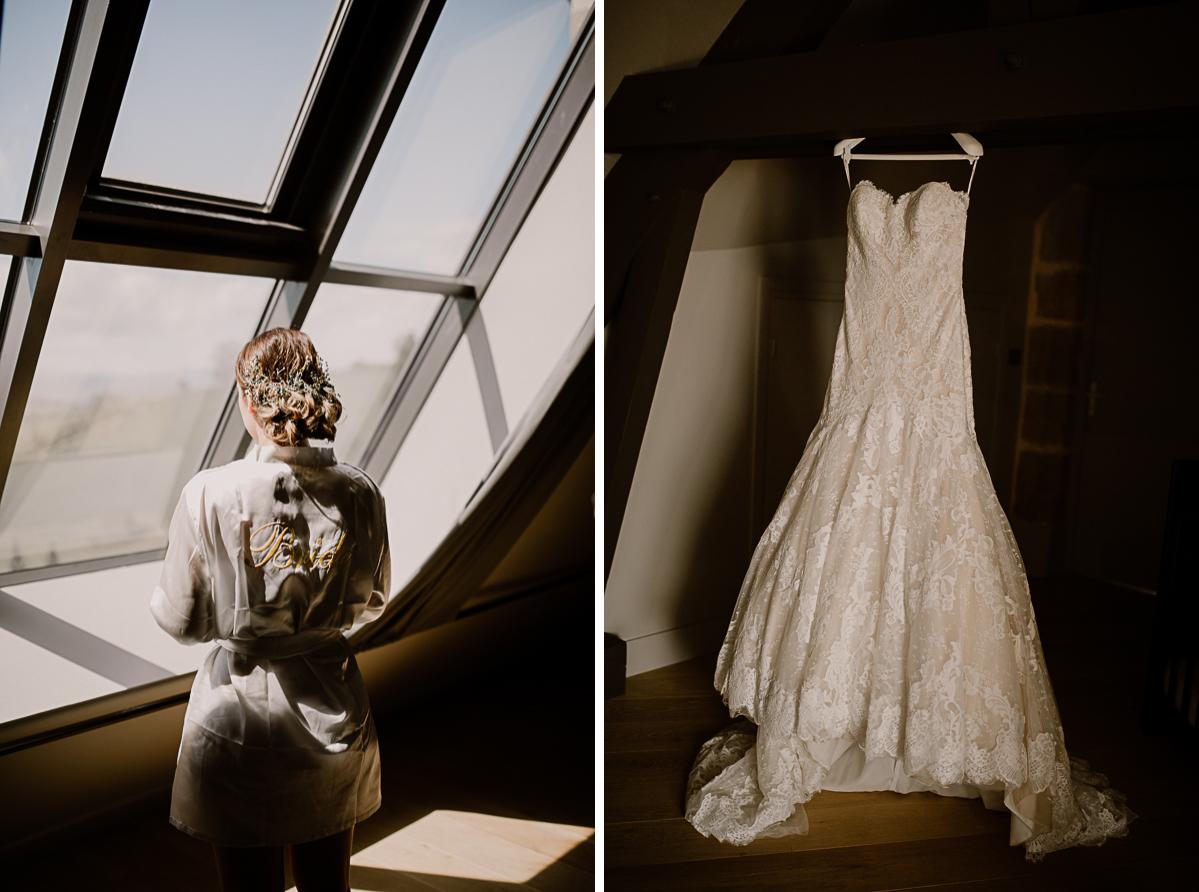 Photographe de mariage chateau boisrigaud usson auvergne la précieuse
