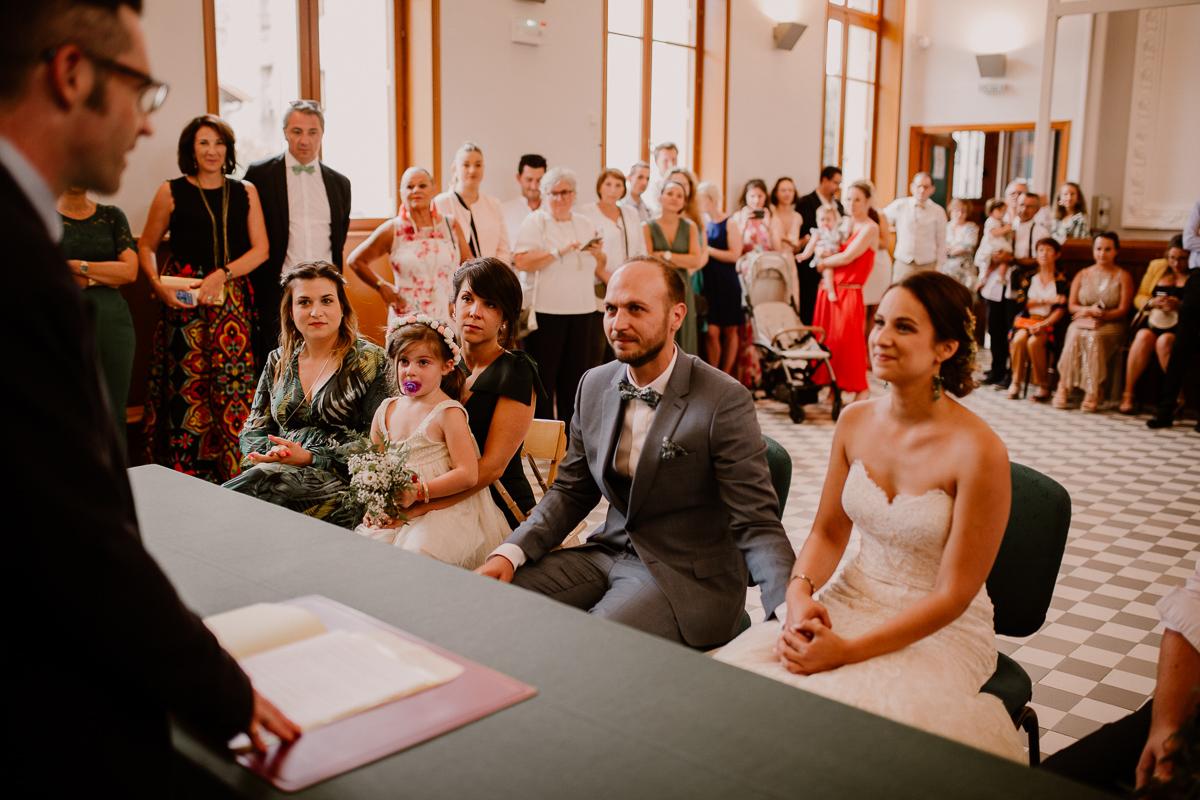 Photographe de mariage chateau boisrigaud usson auvergne cérémonie civile