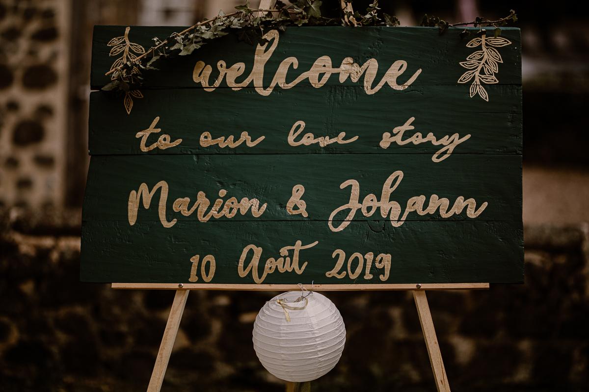 Photographe de mariage chateau boisrigaud usson auvergne welcome