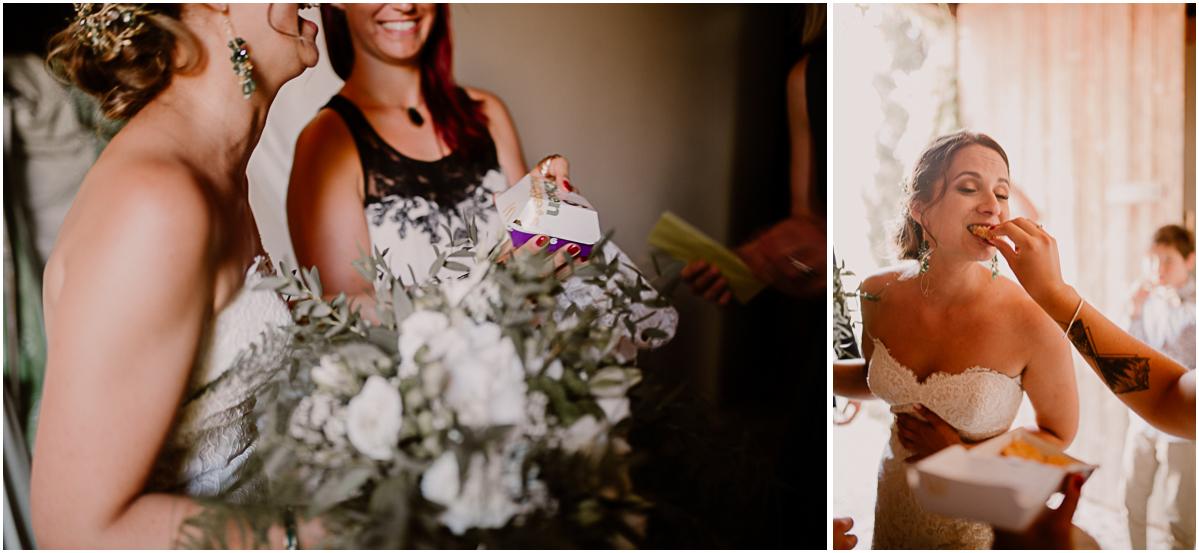 Photographe de mariage chateau boisrigaud usson auvergne nuggets