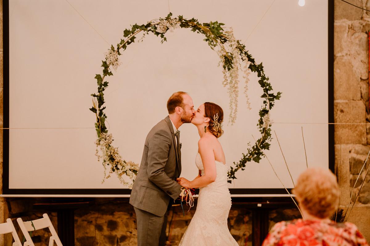 Photographe de mariage chateau boisrigaud usson auvergne arche