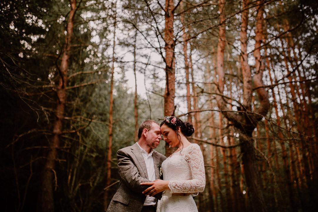 photographe mariage auvergne amoureux foret